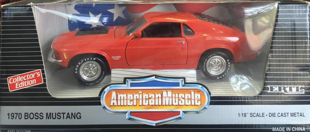 Ford Mustang Boss 429 1970 ERTL American Muscle 1/18