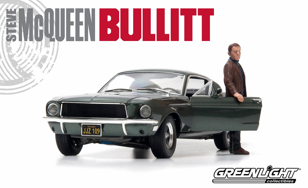 Ford Mustang GT Bullitt 1968 Greenlight 1/18