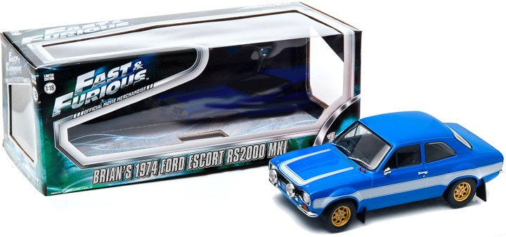 Ford Escort RS2000 MKI 1974 Fast & Furious Greenlight 1/18