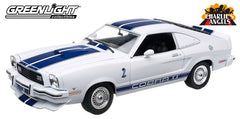 Ford Mustang Cobra II Charlie's Angels 1976 Greenlight 1/18