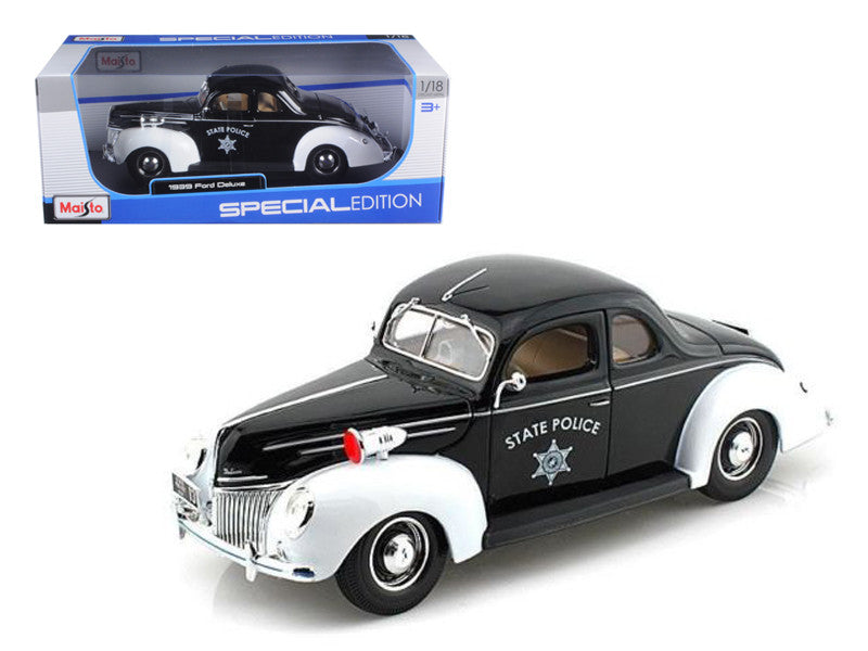 Ford Deluxe Police 1939 Maisto 1/18
