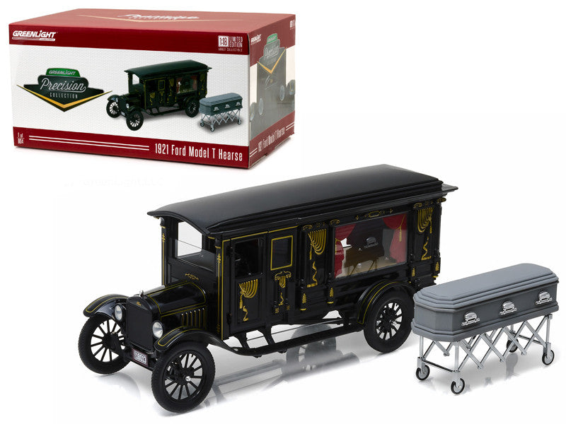 Ford Model T Corbillard 1921 Greenlight Precision Collection 1/18