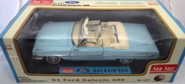 Ford Galaxie 500 Convertible 1964 Sun Star 1/18