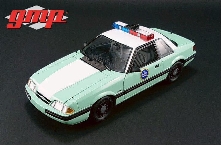 Ford Mustang 1988 United States Border Patrol SSP GMP 1/18