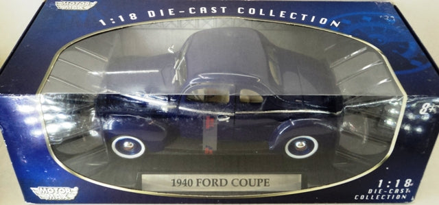 Ford Coupe 1940 Motor Max 1/18