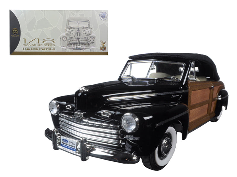 Ford Sportsman Woody Convertible 1946 Road Signature Signature Series 1/18