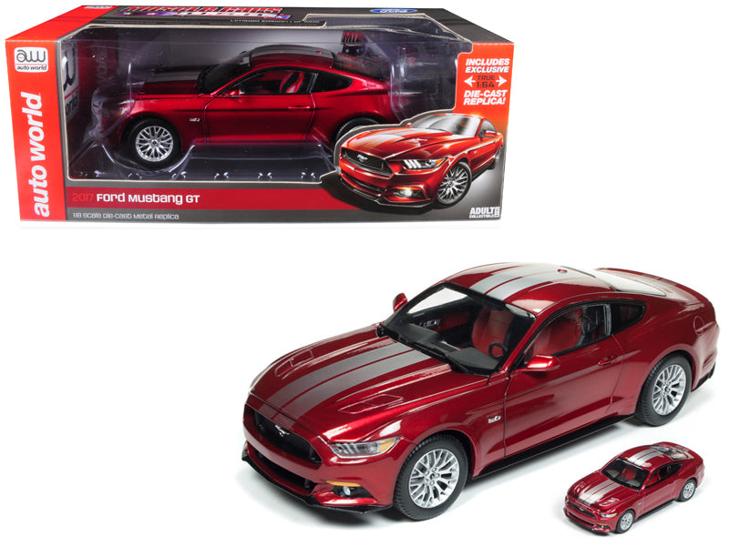 Ford Mustang GT 2017 Auto World 1/18