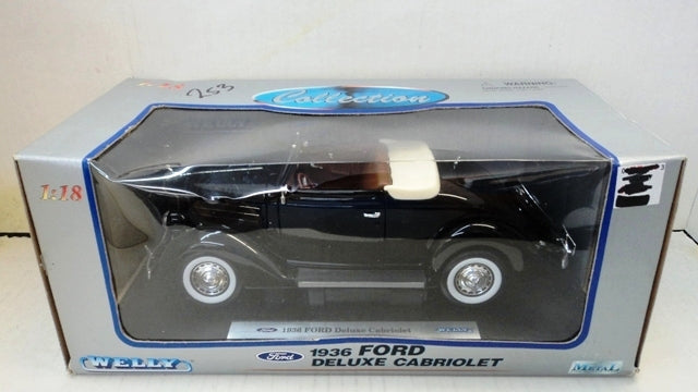 Ford Deluxe Cabriolet 1936 Welly 1/18