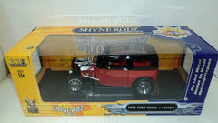 Ford Model A Custom 1931 Road Signature Shyne Rodz 1/18
