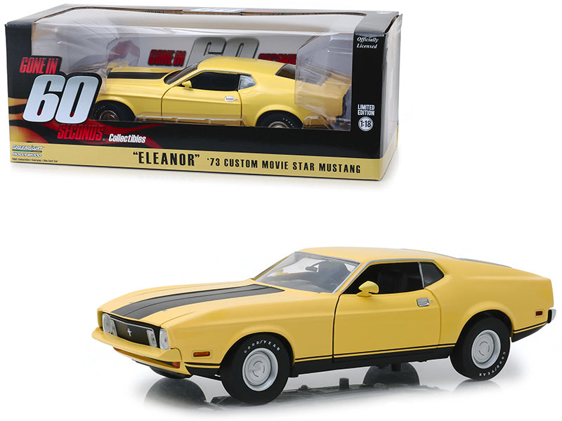 Ford Mustang 1973 Eleanor Greenlight Hollywood 1/18