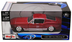 Ford Mustang GT 1967 Maisto 1/24