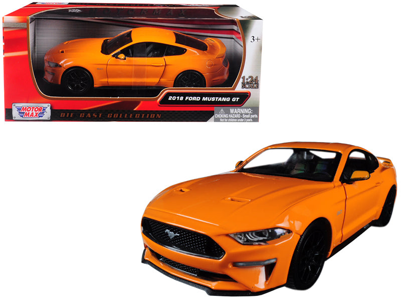 Ford Mustang Gt 2018 Motor Max 1/24