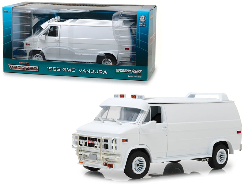 GMC Vandura 1983 Greenlight 1/18