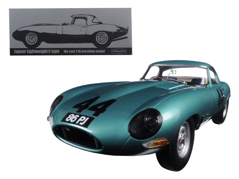 Jaguar Lightweight E-Type 1963 Paragon 1/18