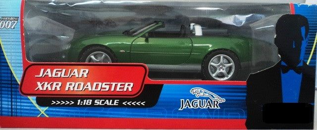 Jaguar XKR Roadster James Bond 007 Beanstalk 1/18