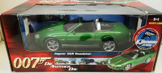 Jaguar XKR Roadster James Bond 007 ERTL RC2 1/18