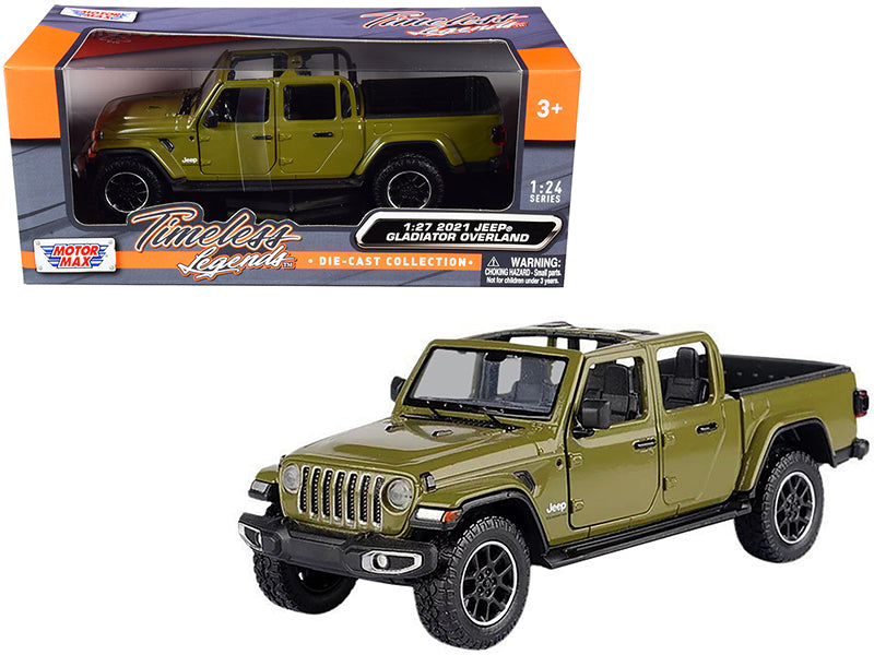Jeep Gladiator Overland Hard Top Motor Max 1/24