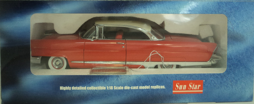 Lincoln Premiere 1956 Sun Star Platinum 1/18