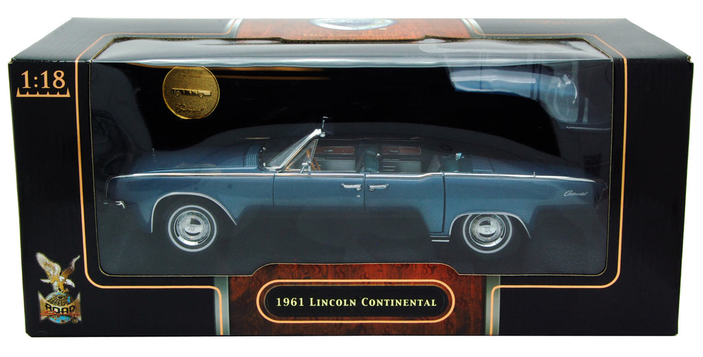 Lincoln Continental Convertible 1961 Lucky Die Cast Road Signature Signature Series 1/18