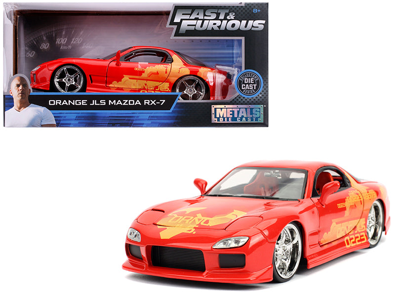Mazda RX-7 JLS Fast and Furious Jada 1/24