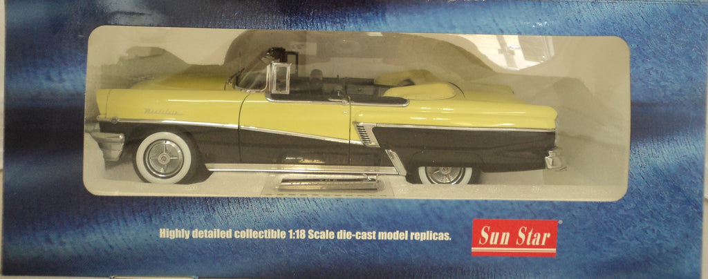 Mercury Montclair Convertible 1956 Sun Star Platinum 1/18