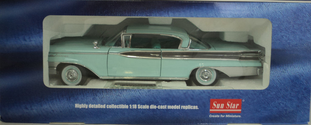 Mercury Park Lane Hard Top 1959 Sun Star Platinum 1/18