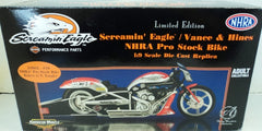 Harley Davidson Screamin, Eagle / Vance & Hines Racing Champions Authentics 1/9