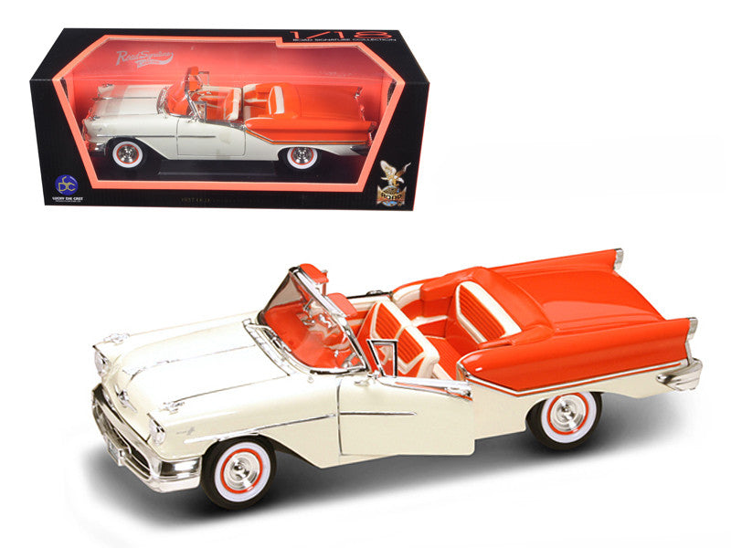 Oldsmobile Super 88 Convertible 1957 Lucky Die Cast Road Signature 1/18