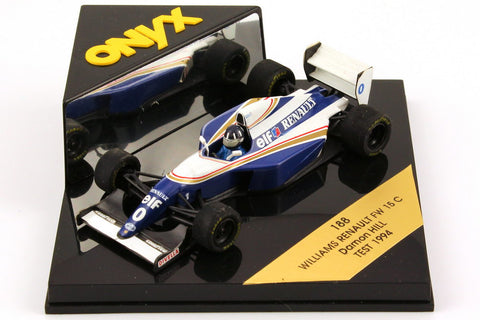 Williams Renault FW15C 1994 Test Car Onyx 1/43