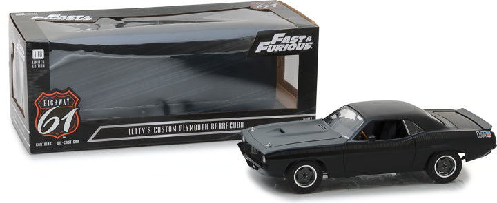 Plymouth Cuda Fast & Furious Highway 61 1/18