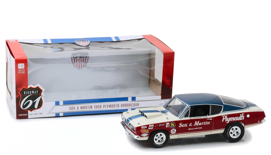 Plymouth Barracuda 1968 Highway 61 1/18