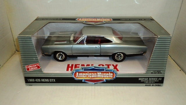 Plymouth GTX 426 Hemi 1969 ERTL American Muscle SuperCar Collectibles 1/18