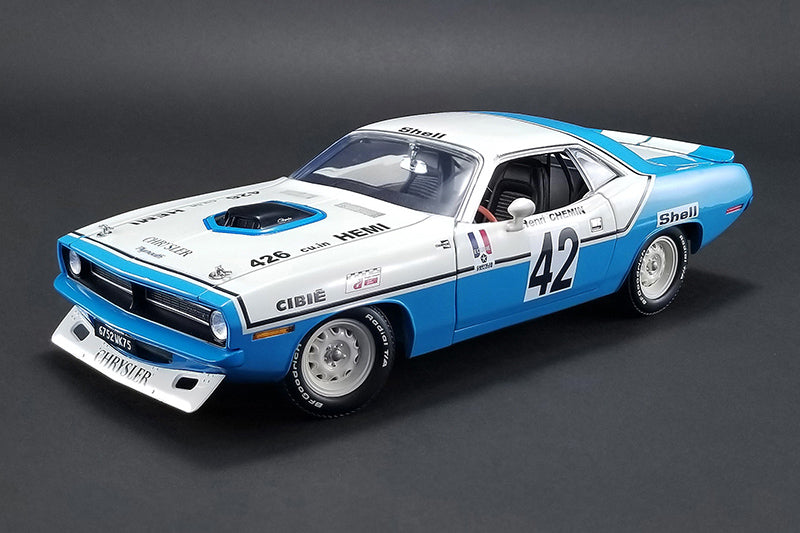 Plymouth Barracuda (Cuda) 1970 ACME (GMP) 1/18