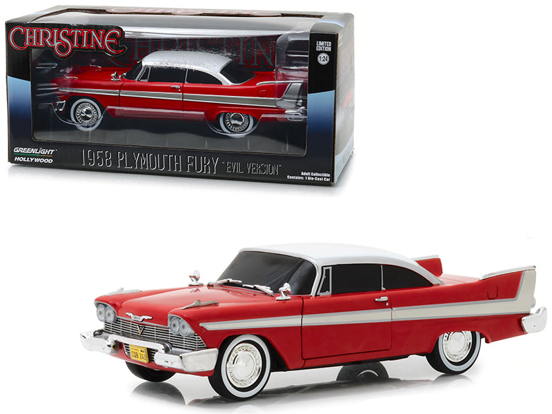 Plymouth Fury Christine ''Evil Version'' 1958 Greenlight 1/24