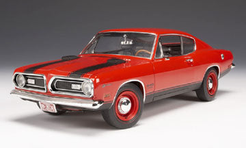 Plymouth Barracuda Super Street 440 1969 Highway 61 Suparcar Collectibles 1/18