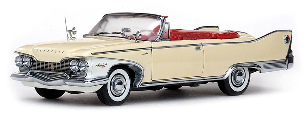 Plymouth Fury Convertible 1960 Sun Star Platinum 1/18