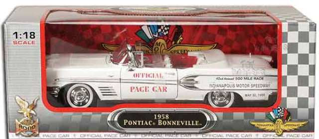 Pontiac Bonneville Convertible 1958 Road Signature 1/18