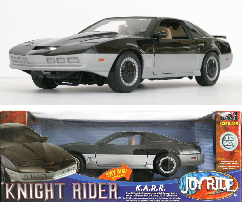 Knight Rider K.A.R.R. ERTL RC2 Joy Ride 1/18