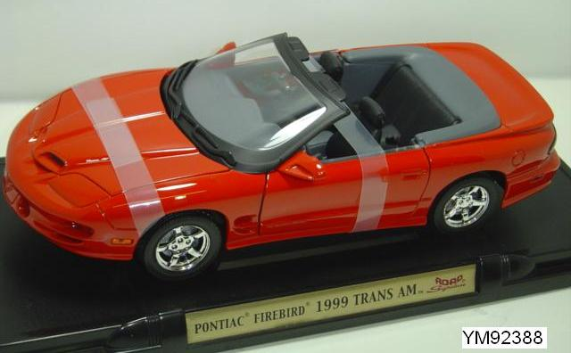 Pontiac Firebird Trans Am Convertible 1999 Road Signature 1/18