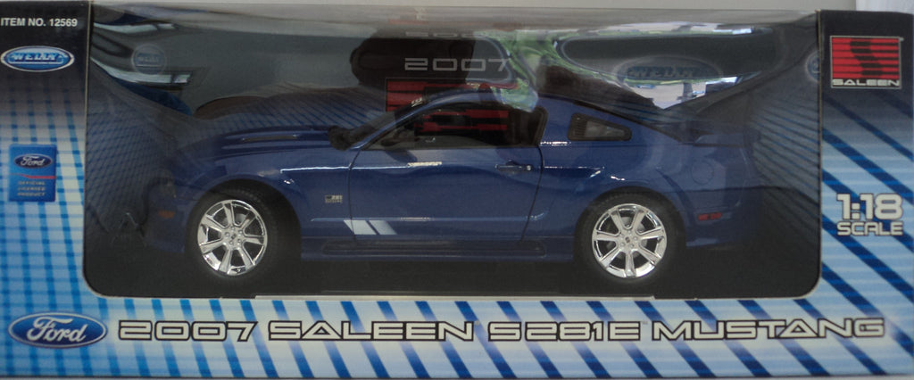 Saleen S281E 2007 Welly 1/18