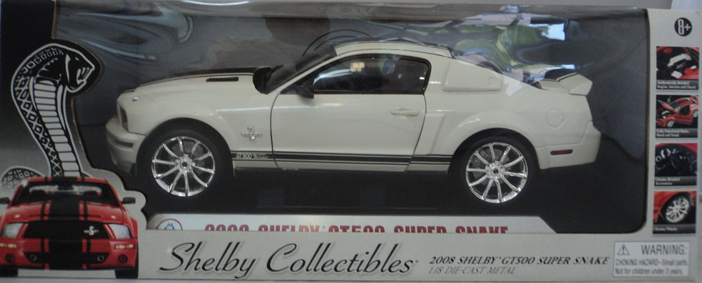 Shelby GT500 Super Snake 2008 Shelby Collectibles 1/18