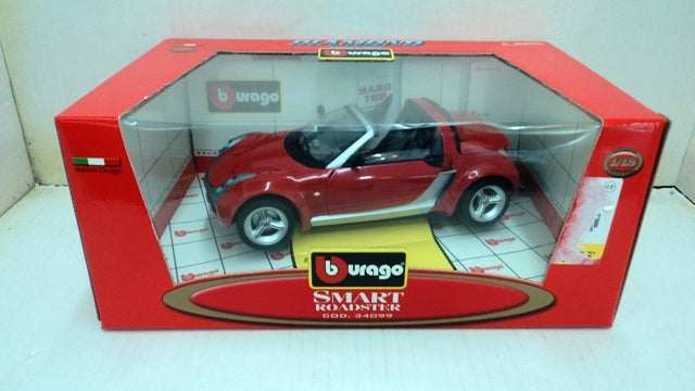 Smart Roadster Burago 1/18