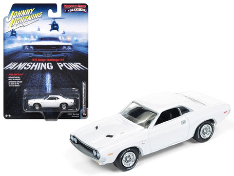 Dodge Challenger R/T 1970 Vanishing Point Johnny Lightning 1/64