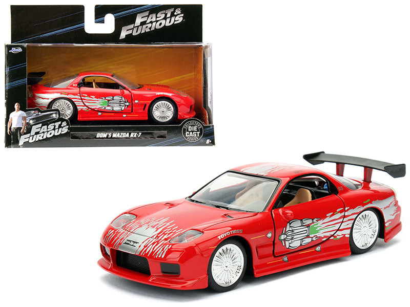 Mazda RX-7 Fast and Furious Jada 1/32