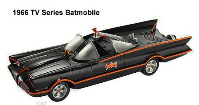 Batmobile 1966 HotWheels 1/50