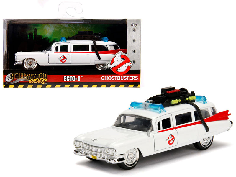 Cadillac 1959 Ambulance Ghostbusters ECTO-1 Jada Hollywood Rides 1/32