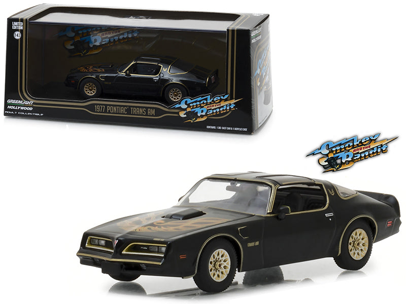 Pontiac Firebird Trans Am 1977 Bandit Greenlight 1/43