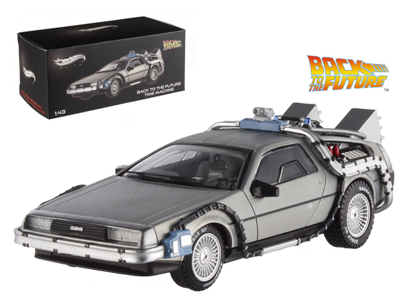 Delorean Back to The Future HotWheels Elite 1/43