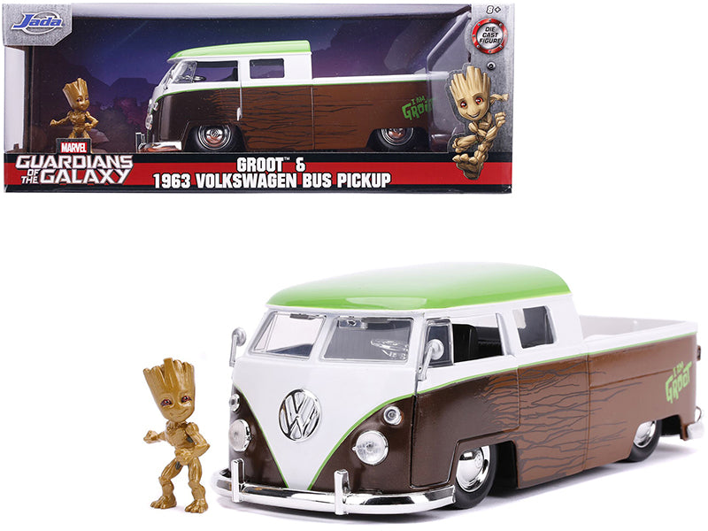 Volkswagen Bus Pick Up 1963 Marvel Guardians Of The Galaxy Jada 1/24