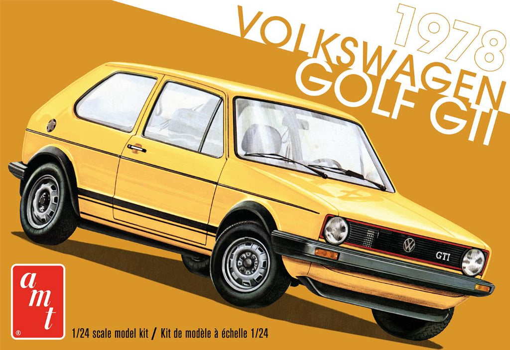 Volkswagen Golf (Rabbit) GTi 1978 AMT 1/24